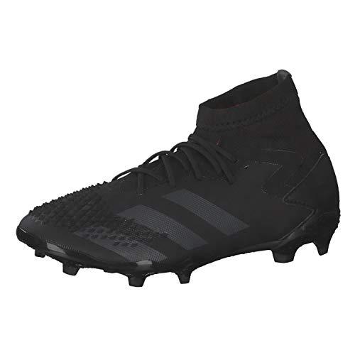 adidas Predator MUTATOR 20.1 FG J, Zapatillas de fútbol, NEGBÁS/NEGBÁS/ROSSHO, 33 EU