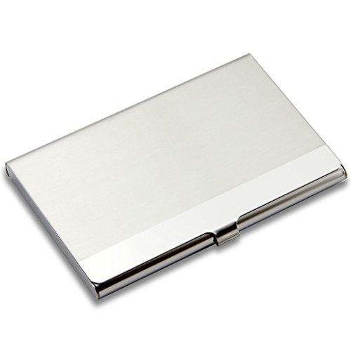 Profesional de acero inoxidable tarjetero tarjeta caso perfecto para mantener tarjetas de visita en Inmaculada Condición