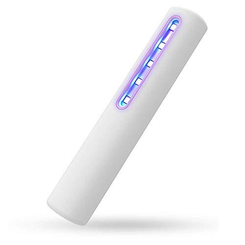 BrightBulb UVC Licht Sanitizer Ultraviolett LED Sterilisator Hand Wand UVC Desinfektion Lampe Tragbare UVC Reiniger Für Home Car Travel Hotels Domestic Office Verwendet-Weiß