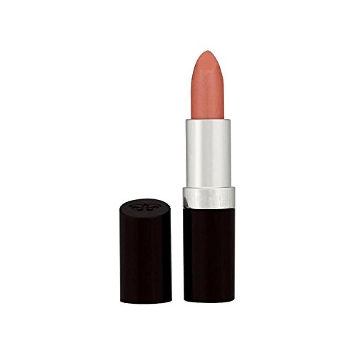 招待理論ロッカーリンメル持続的な仕上げの口紅ヌードピンク206 x2 - Rimmel Lasting Finish Lipstick Nude Pink 206 (Pack of 2) [並行輸入品]
