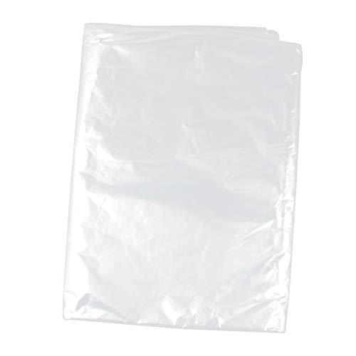 Hemoton 30 Piezas Bolsas de Tintorería de Plástico Transparente Ropa Traje Cubre Prendas de Vestir Ropa de Limpieza en Seco Cubre Bolsas Bolsas de Almacenamiento 60X90 Cm