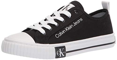 Calvin Klein Women's Clary Sneaker, Black, 10