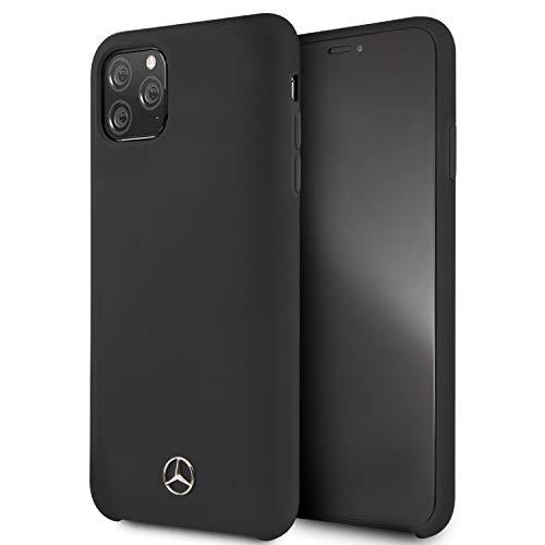 Mercedes-Benz Liquid Hard Case Hülle für Apple iPhone 11 Pro Max - Schwarz