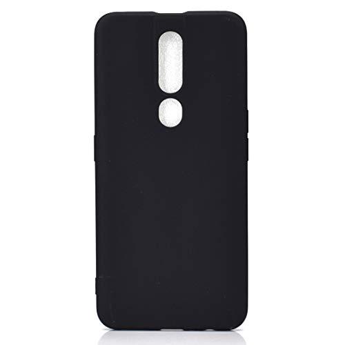 BSA Schutzhülle für Oppo F11 Pro, schwarz, flexibel, weich, ultradünn, kratzfest, HD-Hülle, kompatibel mit Smartphones