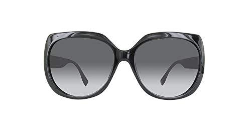 Preisvergleich Produktbild Fendi FF0047FS-D28-59 FENDI Sonnenbrille FF0047FS-D28-59 Groß Sonnenbrille 59,  Schwarz