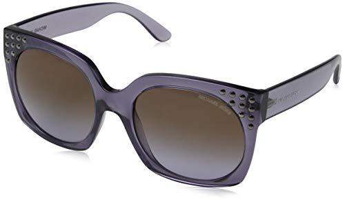 Michael Kors 0MK2067 Gafas de sol, Dark Purple Crystal, 56 para Mujer