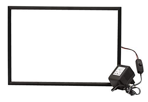 Velmonde Smart Foil, elektrisch schaltbare Sichtschutzfolie, Muster 30,80 x 21,50 cm
