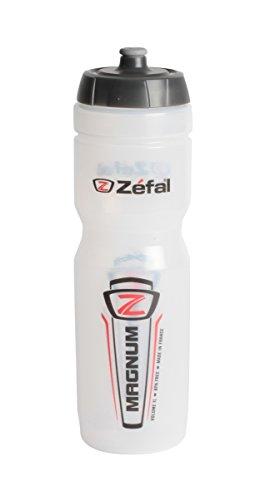 Zefal Unisex– Erwachsene Trinkflasche Magnum, transparent, one size