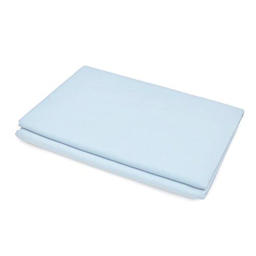 Lumaland Mikrofaser Badetuch Extra saugfähig verschiedene Farben und Größen 80x150cm Hellblau