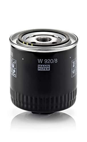 Original MANN-FILTER Ölfilter W 920/8 – Für PKW und Nutzfahrzeuge