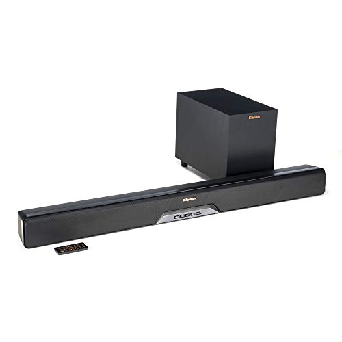 Klipsch 1063246 Reference RSB-8 Sound Bar mit Wireless Subwoofer schwarz