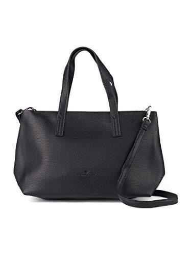 TOM TAILOR Damen Taschen & Geldbörsen Shopper Marla schwarz/black,OneSize