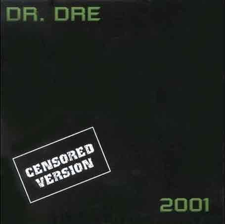 Dr Dre 2001 Clean Edition by Dr. Dre (1999) Audio CD