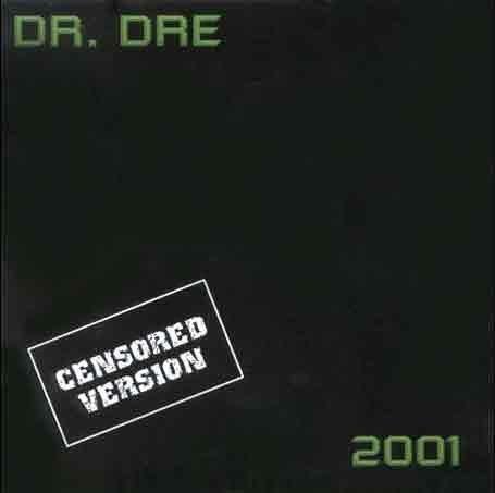 Dr Dre 2001 Clean Edition by Dr. Dre (1999) Audio CD
