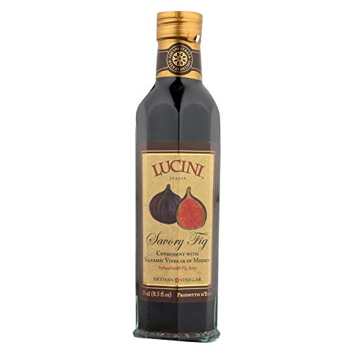 Lucini Italia Balsamic Vinegar With Fig ( 6x8.5 OZ)