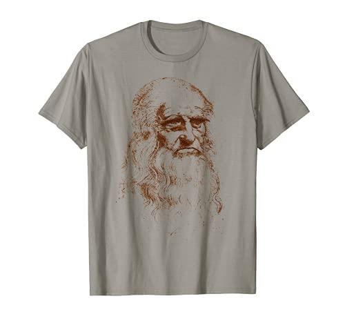 Leonardo da Vinci autor del retrato de El hombre de Vitruvio Camiseta