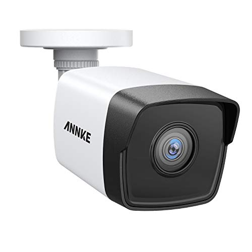 H.265+ Video Compression IP67 Weatherproof for Outdoor Indoor ANNKE 5MP PoE Security Camera 2560x1920 Super HD Bullet IP Cam 100ft EXIR Night Vision Onvif Compliant