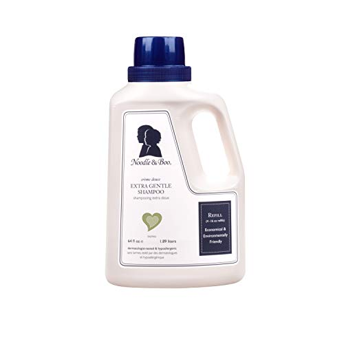 Noodle & Boo Extra Gentle Baby Shampoo, Refill Size, 64 fl. oz.