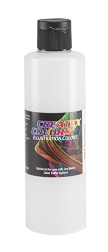 Createx Colors Illustration Base Paint for Airbrush, 8 oz, Transparent by Createx Colors