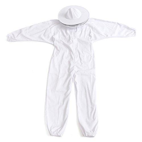 EsportsMJJ Imker Bee Keeping Baumwolle Full Protector Anzug Mit Schleier Hut Kapuze Bee Suit Xl Xxl Xxl - 3xl