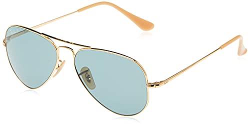 Ray-Ban Aviator Metal II Gafas, Oro, 62 Unisex Adulto