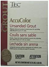 tec accucolor unsanded grout