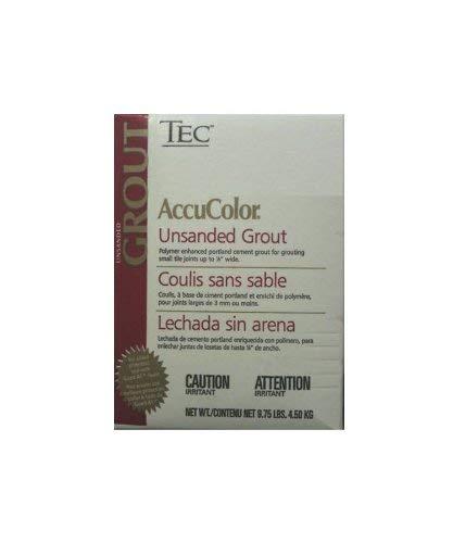 Tec AccuColor Premium Unsanded Grout 9.75 lb (Various Colors) (Light Pewter #927)