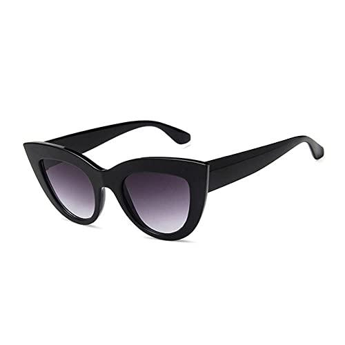 NLJ-lug Gafas De Sol Para Mujer Gafas De Sol De Moda Para Hombre Gafas De Sol Vintage Para Mujer Hombre Gafas De Espejo Negras Retro