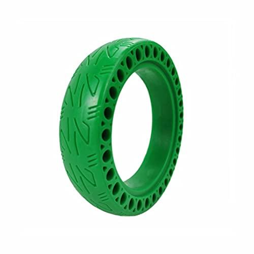 HGTRH Pack neumático Macizo 8.5 Pulgadas Verde para Patinete eléctrico Rueda Repuesto...