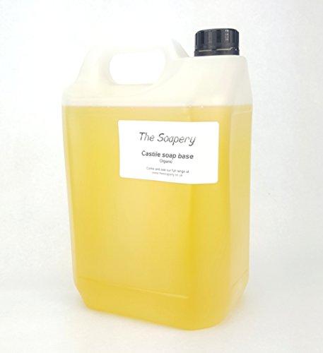Champú base, 5 litros, orgánico, sin SLS, SLES, sulfatos o parabenos, con aloe vera.