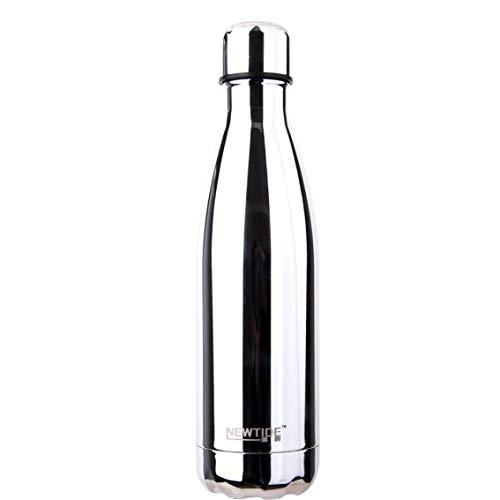 dyudyrujdtry Sport 500ml Drink Fles Water Fles RVS Dubbele Muur Vacuüm Beker voor Camping, Picknick en andere Outdoor Activiteiten