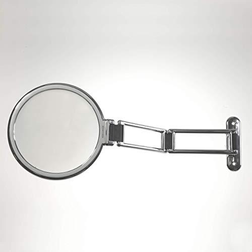 Koh-I-Noor 390KK-3 - Espejo de aumento cromado