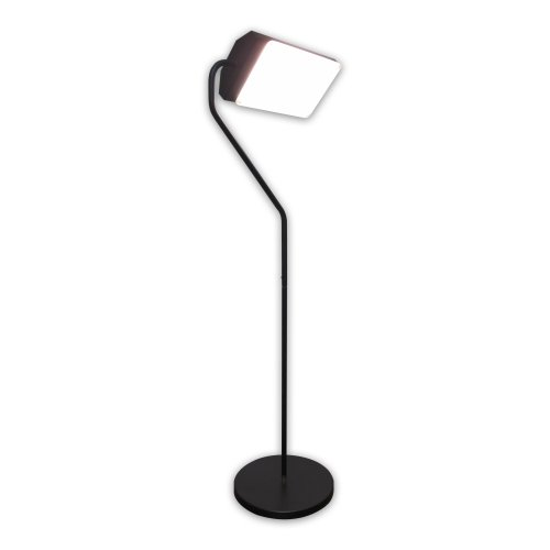 Flamingo 10,000 Lux Bright Light Therapy Floor Lamp, Black