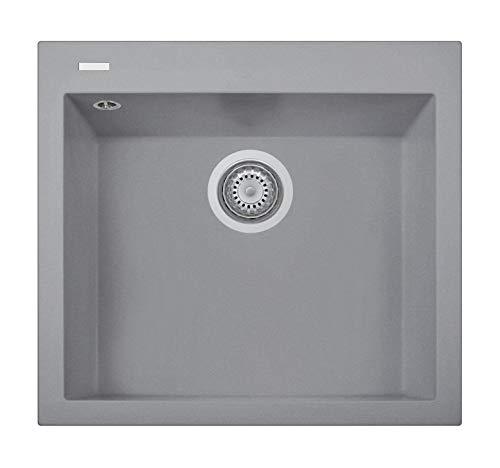 Lavello da cucina PLADOS ON5610 vasca singola Titan