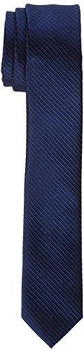 James Tyler schmal, handgefertigt Krawatte, Blau Gestreift), 5