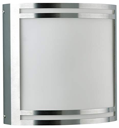 Albert Außenwandleuchte, Glas, Integriert, silber, 0 x 0 x 0 cm