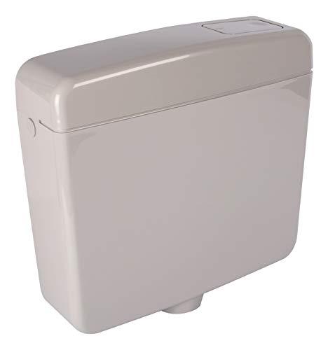Spülkasten Opal | Kunststoff Spül-Stopp-Funktion 6-9 Liter Tiefspülkasten WC, Toilette Manhattan