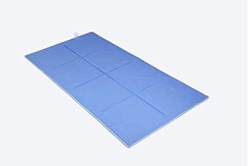 GR&ST EIS Matratze Cool Matratze Cooling Gel Cool Pad Einzelkissen Anhaltende Orthopädische Kühlmatte Geeignet für Sommer Schlaf (Blau) 70 * 80cm