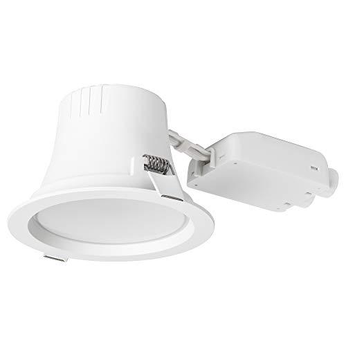 LEPTITER LED Einbaustrahler 8x Ø12cm dimmbar/weiß Spektrum