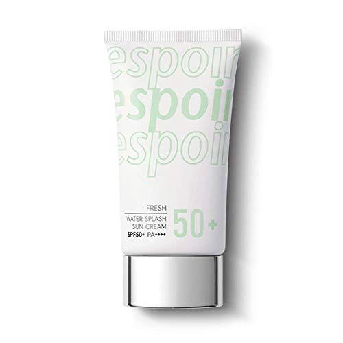 ESPOIR Water Splash Sun Cream Fresh 60ml SPF50+PA+++ | Water Droplet-Bursting Moisture Bomb Sun Cream with Green Tea for a Cooling Feeling