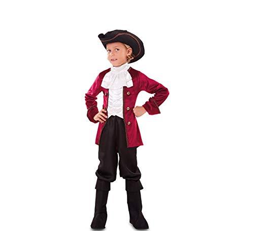 EUROCARNAVALES Disfraz de Pirata Deluxe para niño