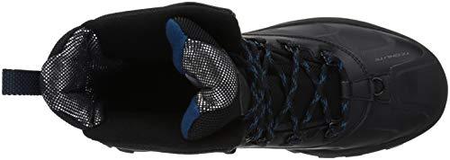 Columbia Men's Bugaboot Plus IV Omni-Heat Snow Boot, Black, Phoenix Blue, 10