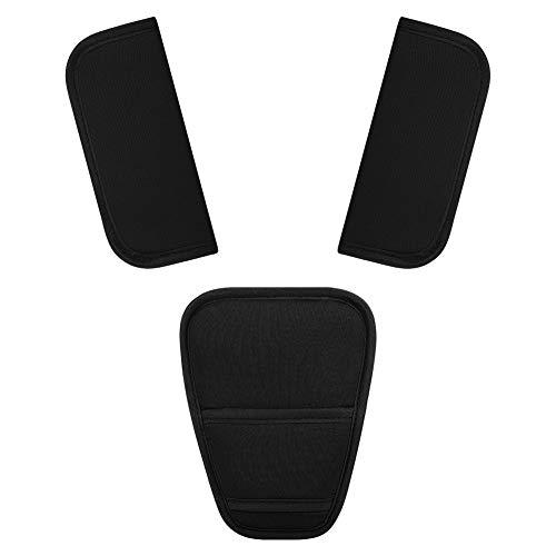 Accmor Car Seat Straps Shoulder Pads Suit for Baby Kids, Stroller Belt Covers, Soft Seat Belt Covers, Hip Support, Straps Shoulder Pads, Seat Belt Covers for All Car Seats, Pushchair, Stroller