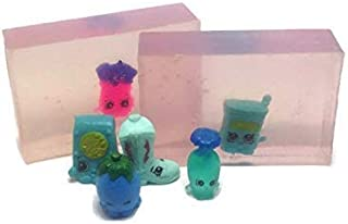 Natural Sh0pkins Soap Kids Soap with Toy Inside 4 Ounces Each form a Collection of Sh0pkins Toys Season 1-8 Mini Girls Toys.