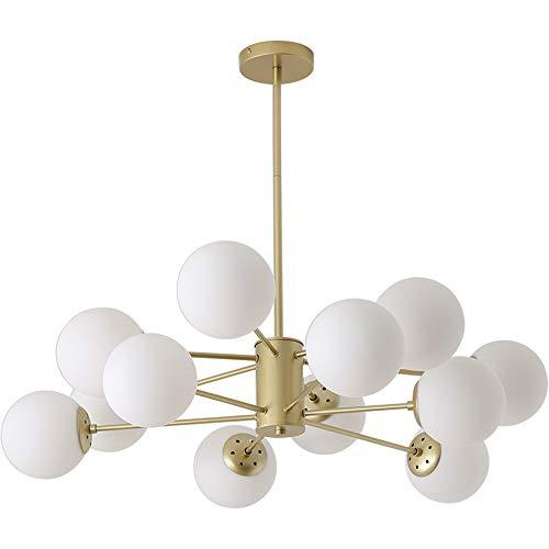 Moderne Sputnik Kroonluchters 12-Licht Messing Mid Century Light Fixture Flush Mount Plafond Licht Hanger Licht voor Keuken Eiland Woonkamer Slaapkamer Foyer Hal