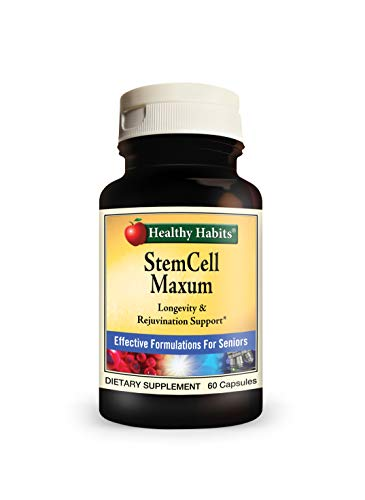 Healthy Habits StemCell Maxum - Best Plant-Based Age-Defying Support Supplement for Healthy Stem Cell Regeneration and Replenishment