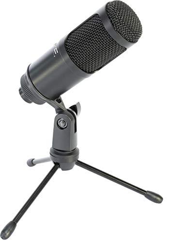 STM100 - LTC - Microfono a condensatore USB per lo streaming continuo, Plug & Play di Windows e Mac, il microfono in streaming, gioco, Hi-Fi, diffusione/Podcast