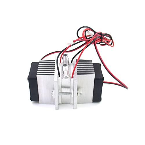 XIAOFANG DIY. Halbleiterkühlsystem Kit Mini Kühlschrank Kühler 12V Leitungsmodul + Wasserkühlung Kopf + Fan + TEC1-12706.