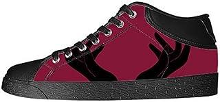 Custom Hand Womens Classic High Top Canvas Shoes Fashion Sneaker