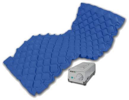 movox healthcare Antidekubitus Matratze/Wechseldruckmatratze blau movocare adm one/Hersteller aus Österreich!